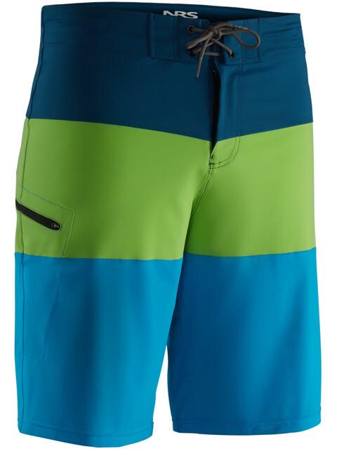 NRS Benny Board Shorts Men Blue/Green
